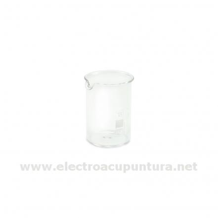 Vaso de cristal para testaje