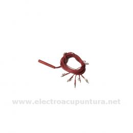 Electrodos estimulación dental