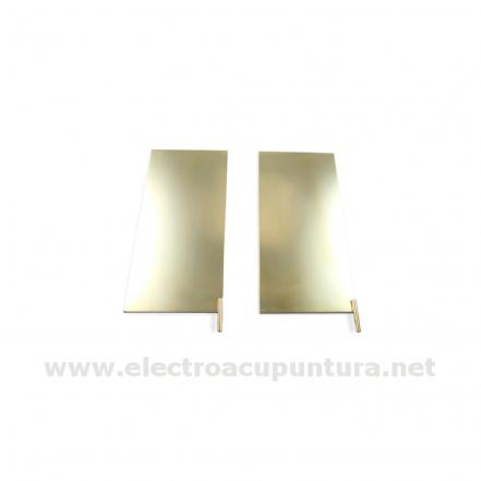 Electrodos placa para pies o zonas extensa